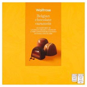 Waitrose Belgian Chocolate Caramels