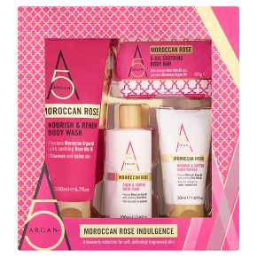 Argan + Moroccan Rose Indulgence