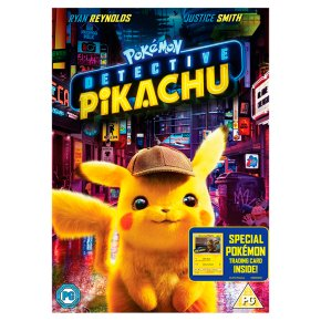 DVD Pokémon Detective Pikachu