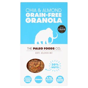 The Paleo Foods Co Grain-Free Granola Chia & Almond