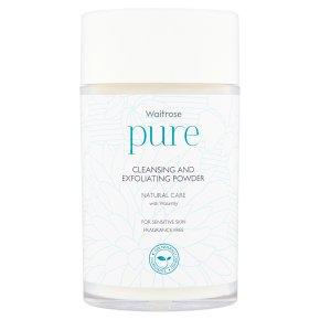 Waitrose Pure Cleansing & Powder