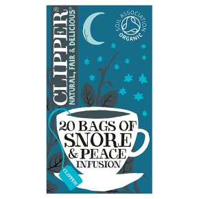 Clipper Snore & Peace 20 Enveloped Bags