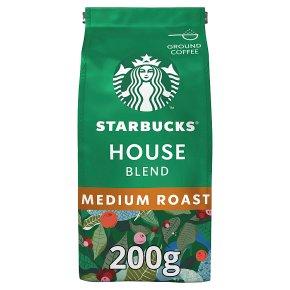 Starbucks house blend medium Arabica coffee