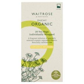 Waitrose Duchy Organic camomile infusion tea, 25 bags