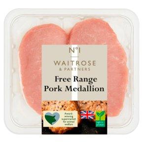 No.1 Free Range Pork Medallions