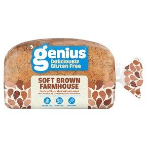 Genius Gluten Free Brown Sliced Bread