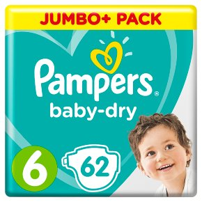 Pampers Baby-Dry 6 15+kg