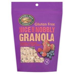 Nature's Path granola berries