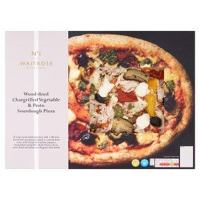 No.1 Roasted Vegetable & Pesto Sourdough Pizza