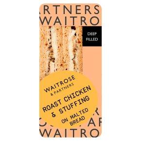 GOOD TO GO Roast Chicken & Stuffing Sandwich