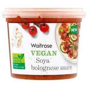Waitrose Vegan Soya Bolognese Sauce