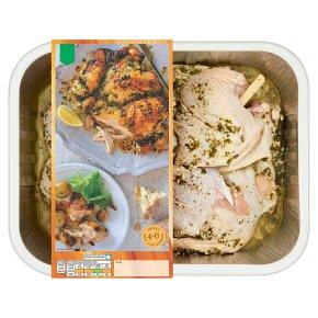 Waitrose Garlic & Cheddar Deboned Chicken