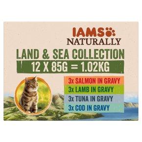 Iams Naturally Land & Sea Collection