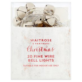 Waitrose Fine Wire Bell Lights