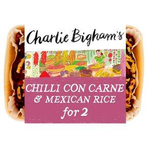 Charlie Bigham's Chilli Con Carne & Mexican Rice