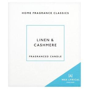 Wax Lyrical Linen & Cashmere