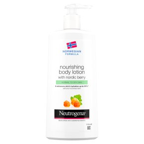 Neutrogena lotion with nordic berry