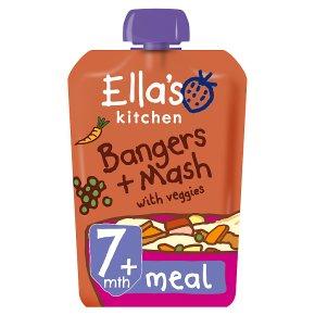 Ella's Kitchen Bangers & Mash