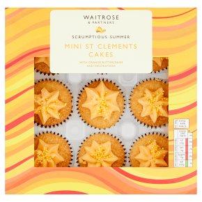 Waitrose Mini St Clements Cakes