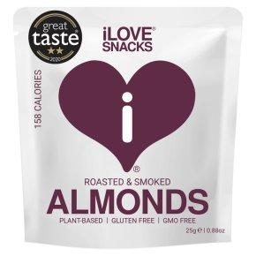 I Love Snacks Californian Smoked Almonds