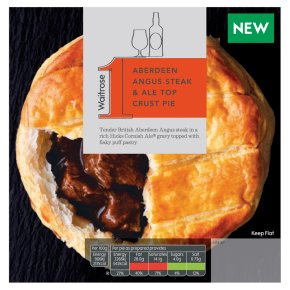 Waitrose 1 Aberdeen Angus Steak & Ale Top Crust Pie