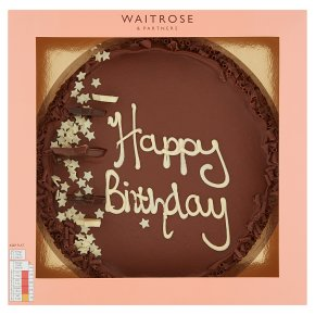 Tremendous Waitrose Happy Birthday Cake Waitrose Partners Personalised Birthday Cards Veneteletsinfo