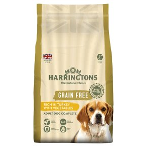 Harringtons Grain Free Turkey with Veg
