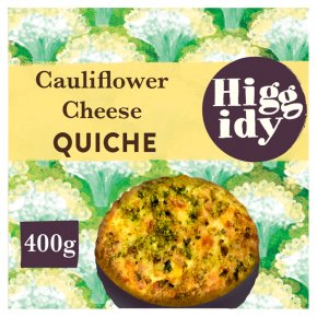 Higgidy Cauliflower Cheese & Broccoli Quiche