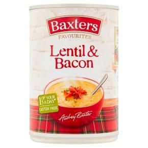 Baxters favourites lentil & bacon soup