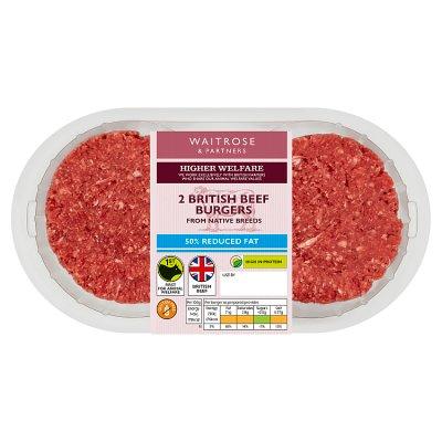 Burgers Waitrose Partners