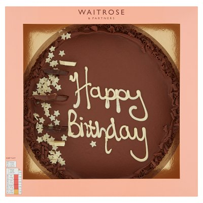 Awe Inspiring Waitrose Happy Birthday Cake Waitrose Partners Birthday Cards Printable Opercafe Filternl