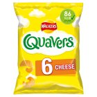 Walkers Quavers cheese multipack crisps - 6x16g