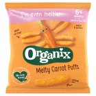 Organix organic carrot sticks - stage 2 - 20g