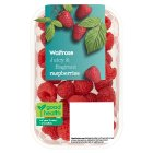 Waitrose sweet and juicy raspberries - 175g
