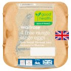 Waitrose British Blacktail large free range eggs - 4s