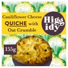 Higgidy Cauliflower Cheese Quiche - 155g