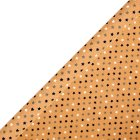 Waitrose 2m roll kraft stars wrap -