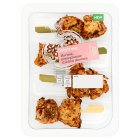 Waitrose World Deli Chicken, Harissa Skewers - 110g