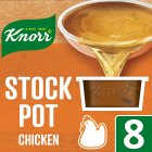 Knorr chicken 8 pack stock pot - 8x28g