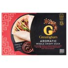 Gressingham whole crispy aromatic duck with pancakes - 1.2kg Special Purchase