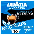 Lavazza A Modo Mio Decaffeinated Coffee Capsules x16 - 120g