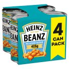 Heinz Baked Beans No Added Sugar 4 pack - 4x415g